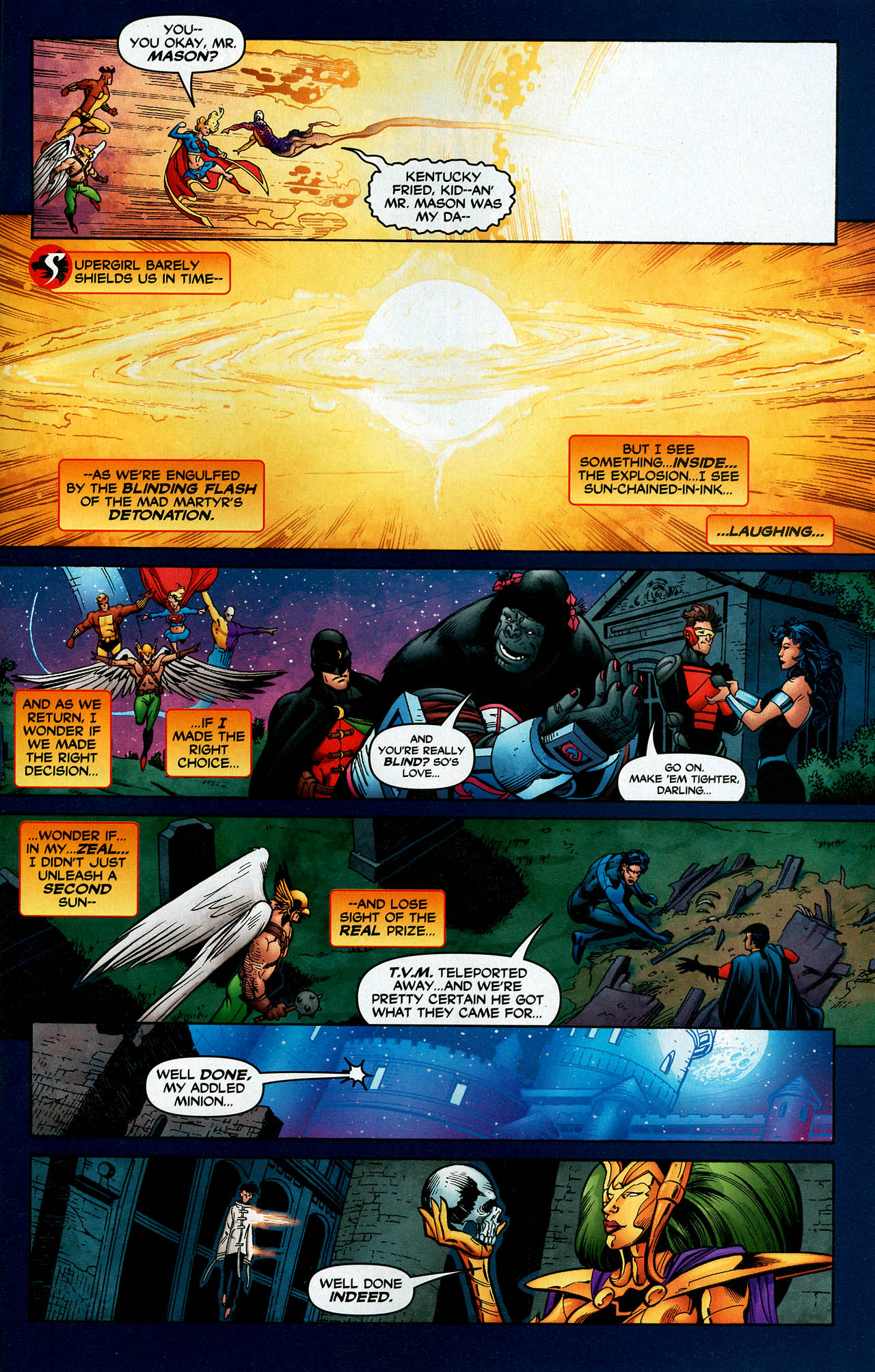 Read online Trinity (2008) comic -  Issue #14 - 29