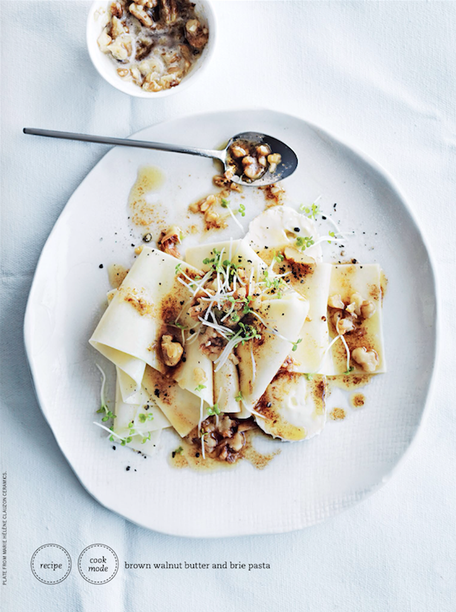 Pasta Recipe by Donna Hay : Brown walnut butter and brie pasta   Cool Chic Style Fashion
