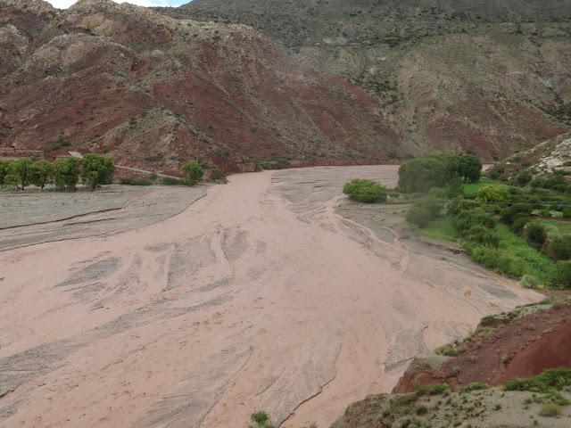dann durchquerten wir den Río Chuqui erfolgreich