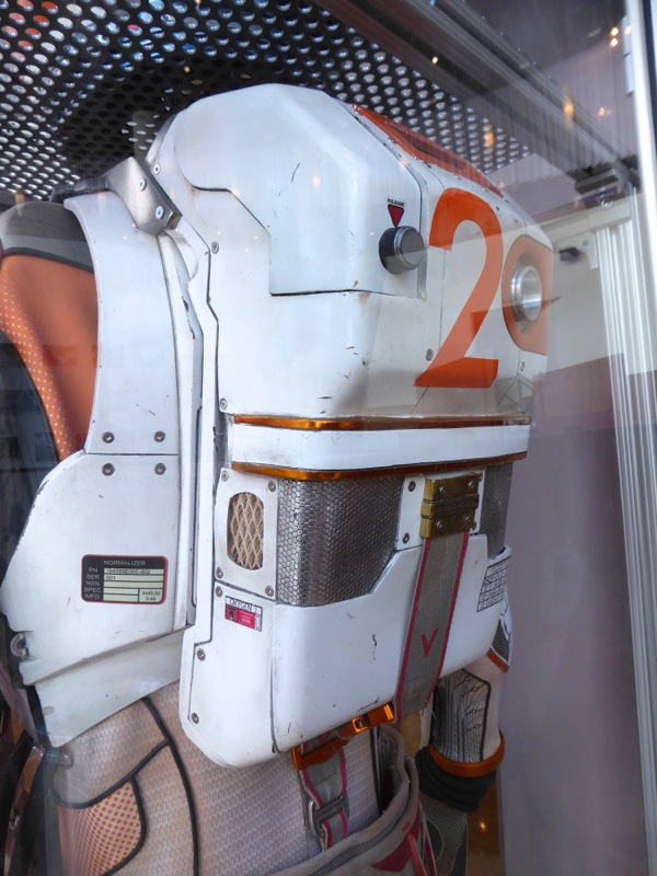 The Martian NASA spacesuit oxygen tank