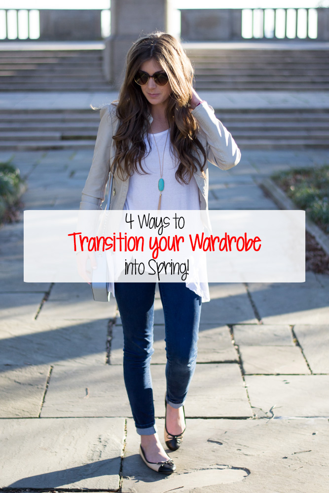 Ways to transition your wardrobe into spring