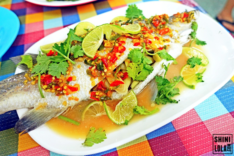 Lime Chilli Steamed Fish
