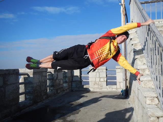 Упражнение Флаг, Смотровая башня горы Большой Ахун