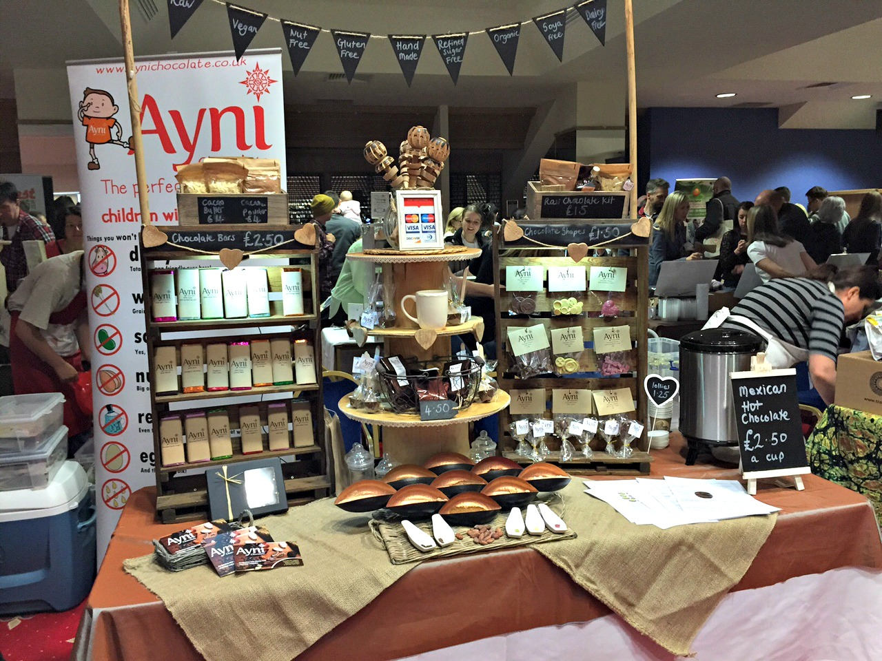 Ayni chocolate NEVfest