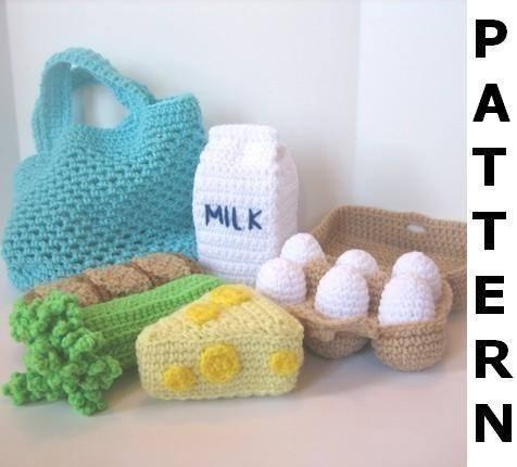 Amigurumis de Postres y Comidas a Crochet