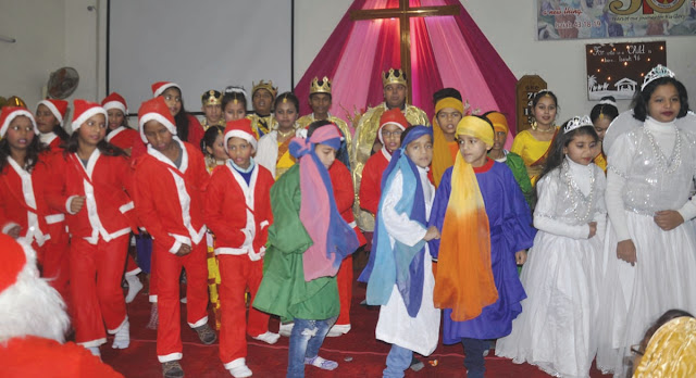 Christmas festival celebrates at Shanti Niwas Church
