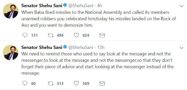 Senator Shehu Sani Reacts To Obasanjo's Open Letter To President Buhari