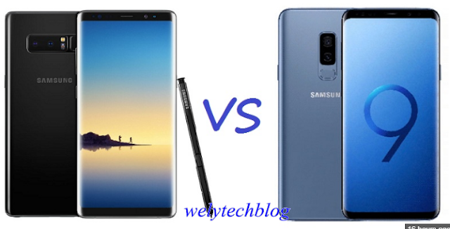 Note 9 VS Note 8