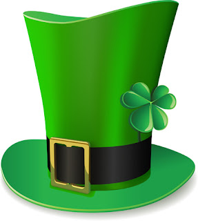 Clipart Image of a 3D Green Irish Hat