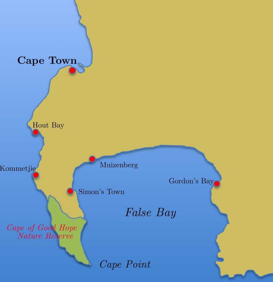 Africa Map Africa Map Cape Of Good Hope
