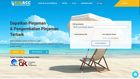 Nomor Call Center CS KlikACC Penjaman Online