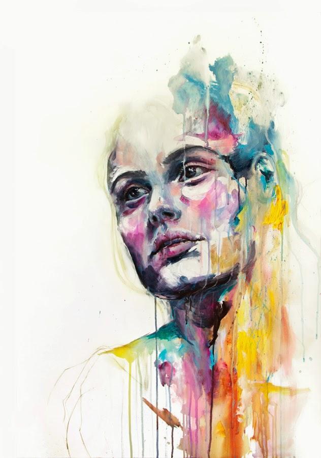 Levanta, Sacode e Desliga - Agnes-Cécile e suas principais pinturas ~ aquarela