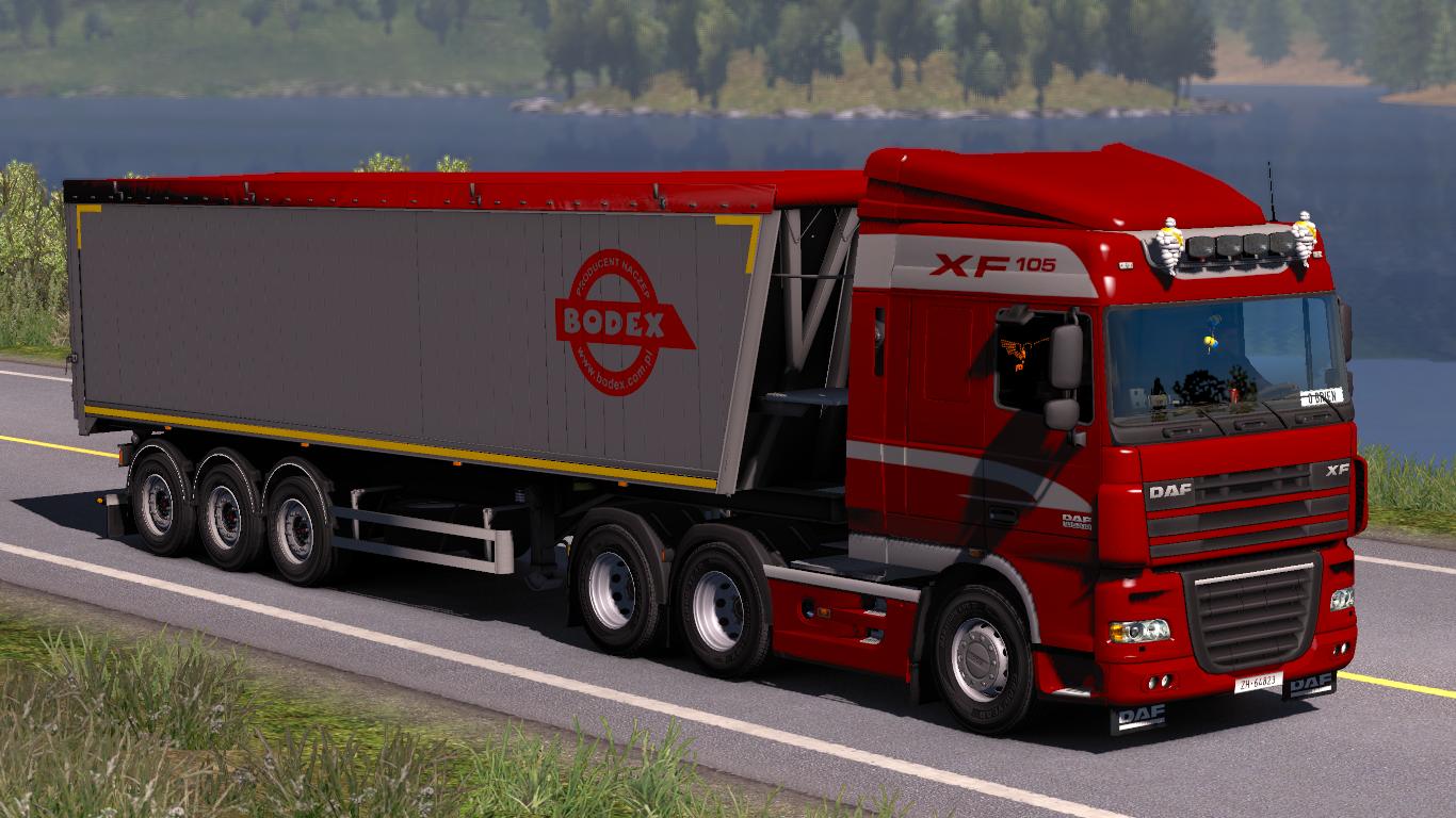 Bodex Kis 3 By Racing V1 1 Euro Truck Simulator 2 Mod World
