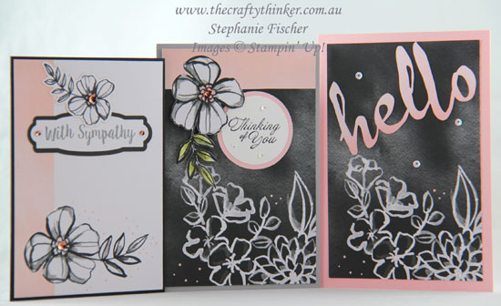 #thecraftythinker, #cardmaking, #stampinup, #petalpassion, Petal Passion Memories & More Card Pack, Stampin' Up Australia Demonstrator, Stephanie Fischer, Sydney NSW