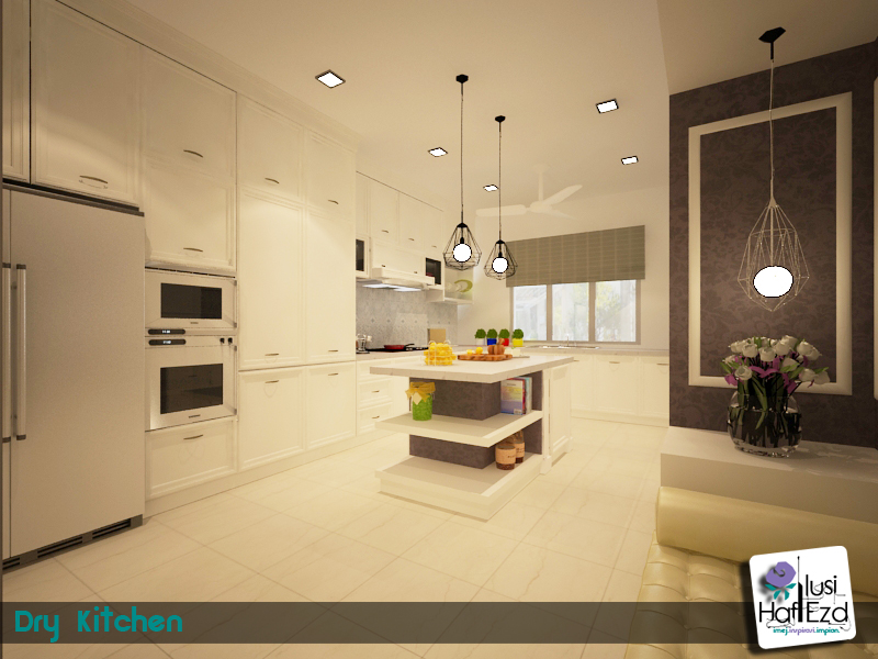 Airaniez S Life Rekaan Dapur Inggeris Moden Modern English Kitchen Design
