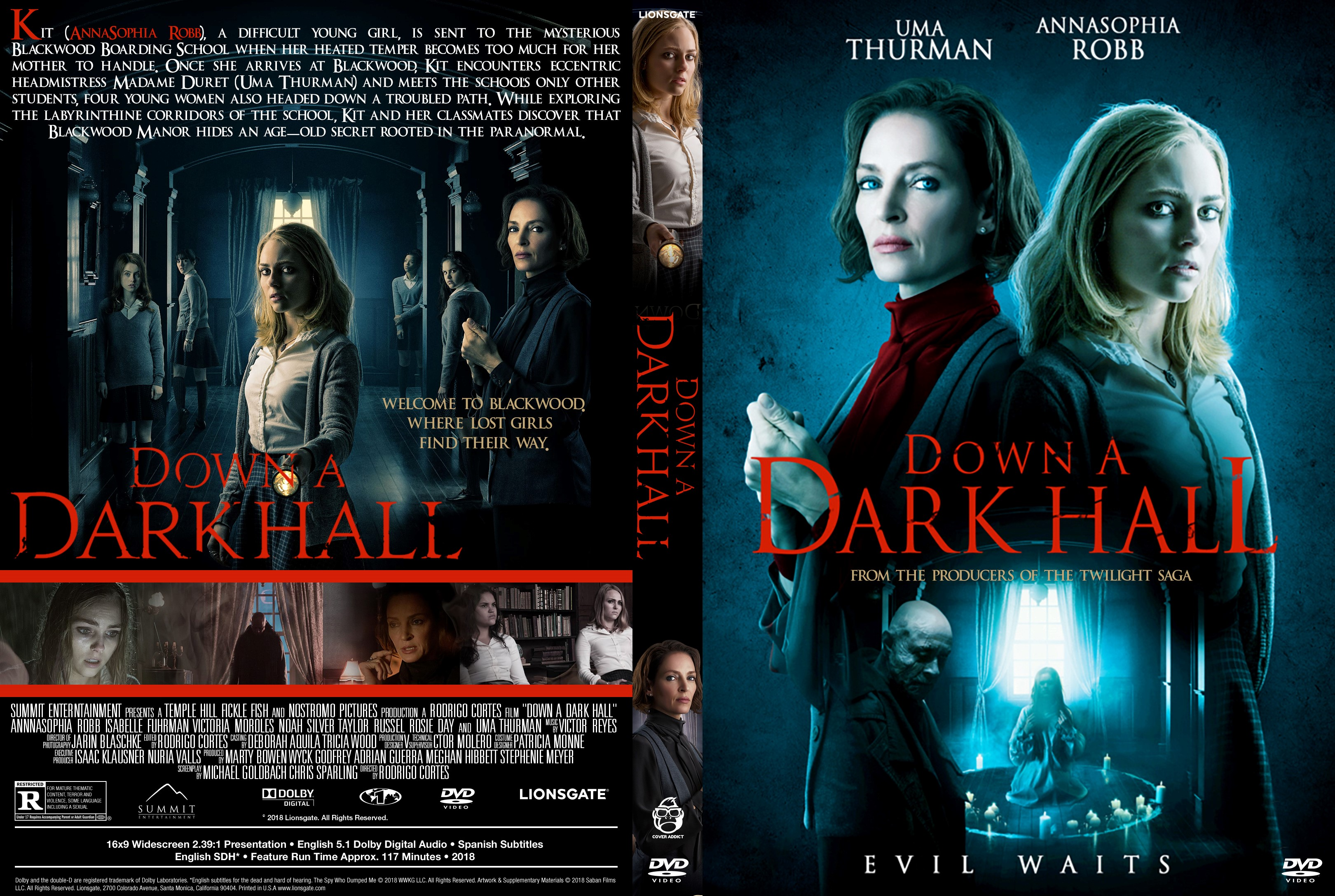 Down A Dark Hall Dvd Cover Cover Addict