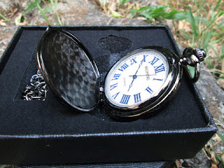 Jam Saku Mewah The Greatest Dad P285 Relogio De Bolso With Necklace Chain
