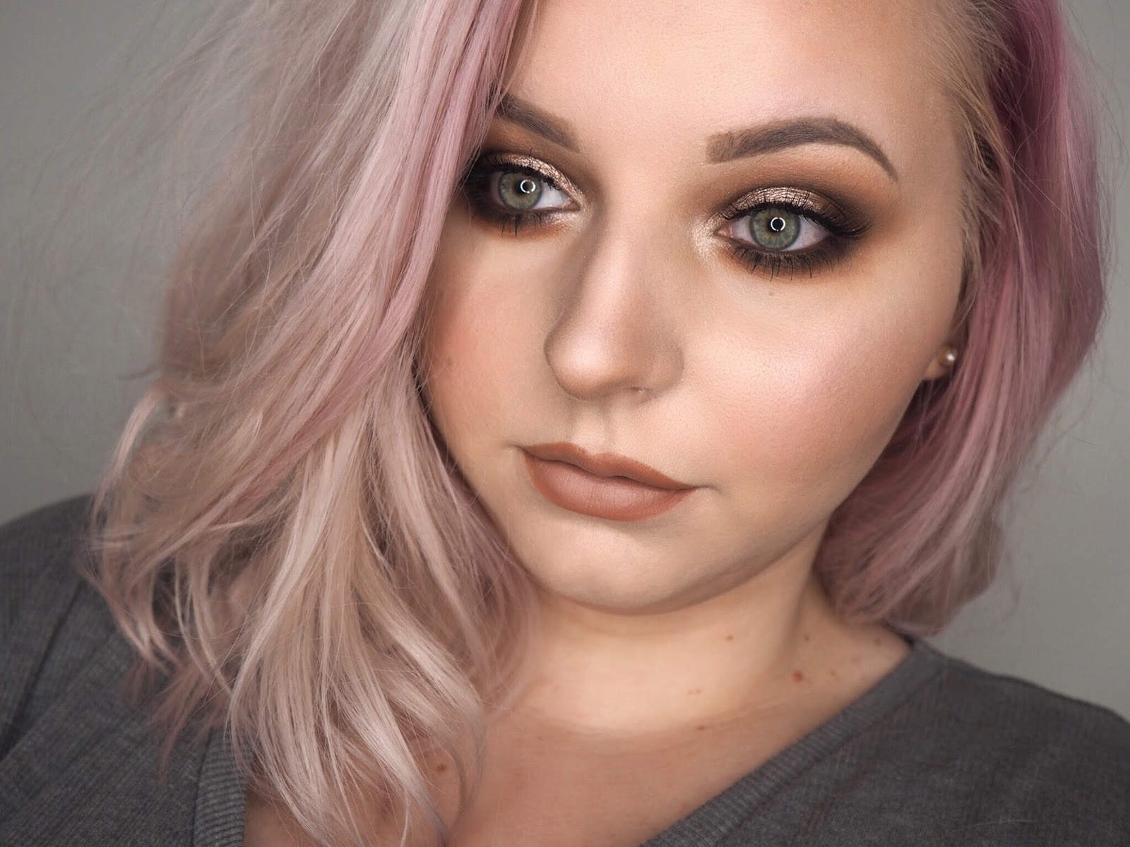 Makeup Look | ABH Pink Champagne