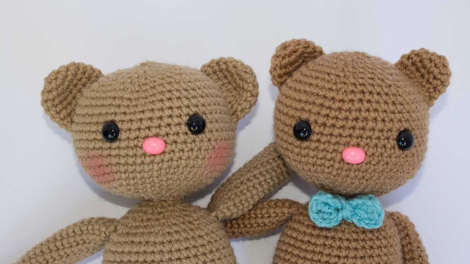 Crochet Amigurumi Bear Pattern Thefriendlyredfoxcom