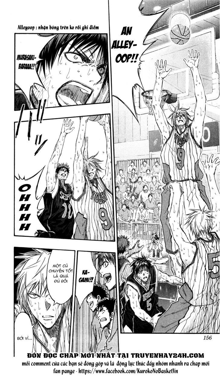Kuroko No Basket chap 161 trang 8