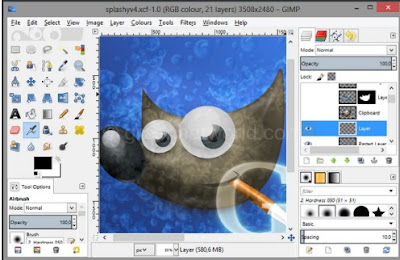 Download Portable GIMP Latest Application Free