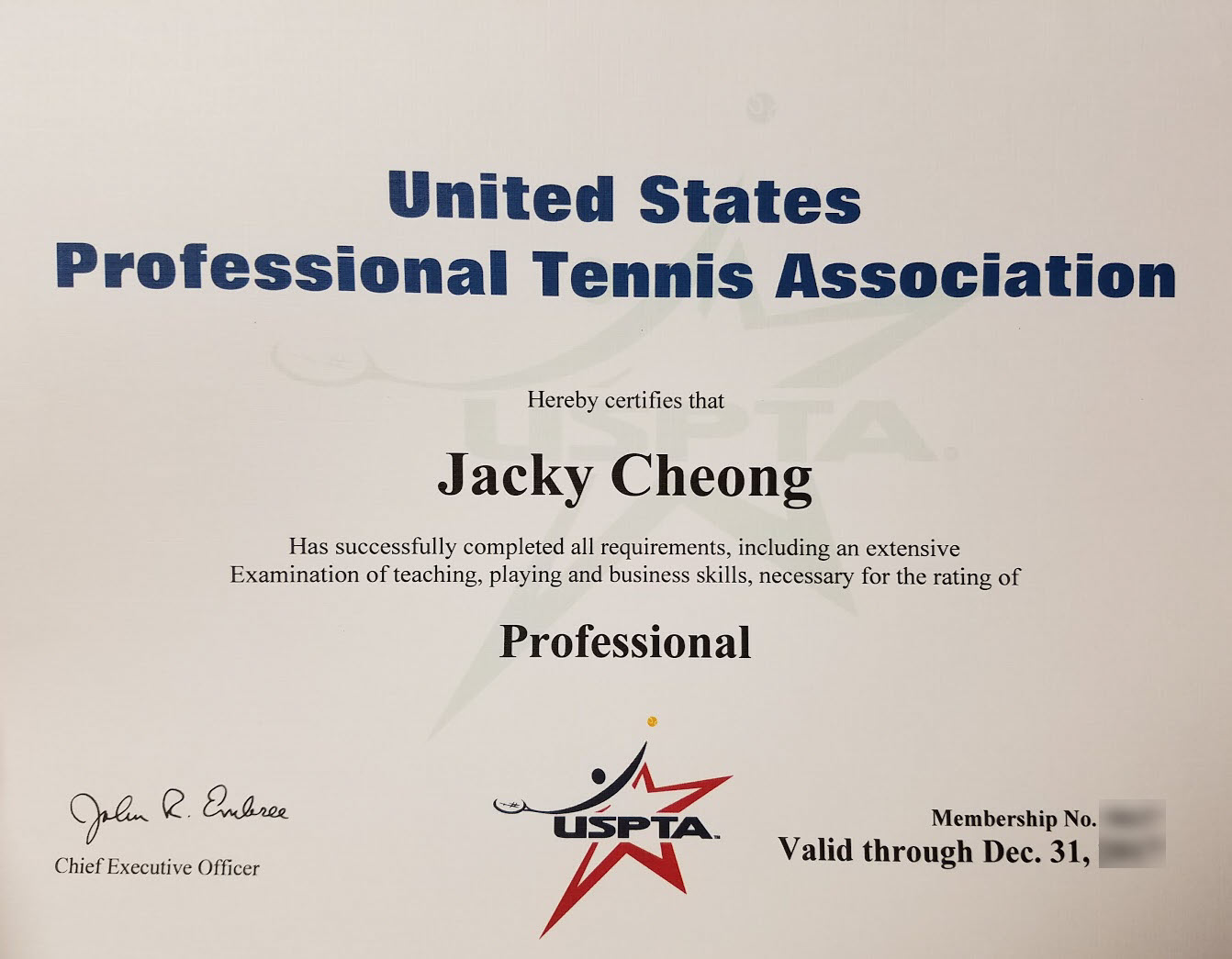 tennis certification  ATP Tennis Travels: USPTA Professional Exam - Tips and Course Review
