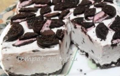 resep oreo chese cake