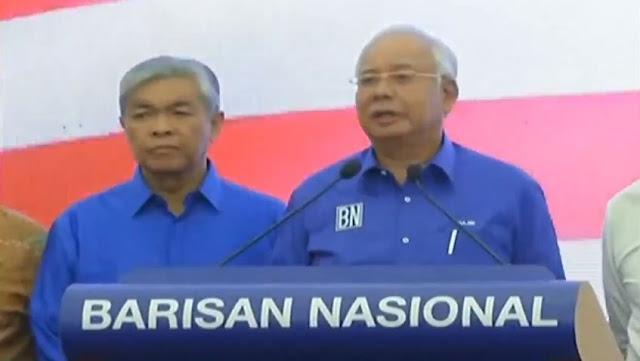 ucapan DS Najib Razak selepas PRU14