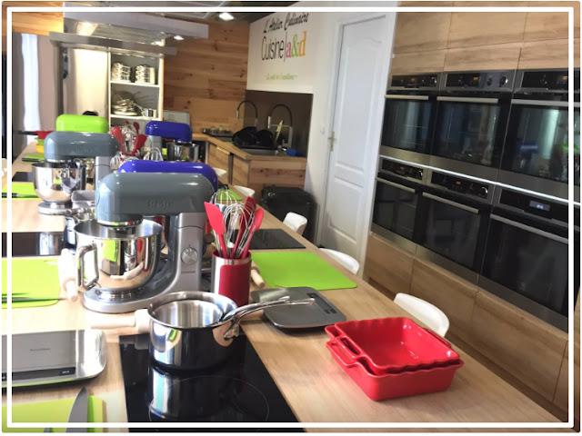 atelier culinaire de Cuisine a&d