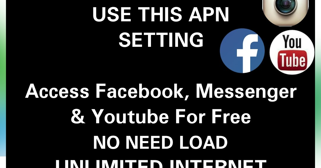 No Need Load Unlimited Internet Apn Only For Smart TNT And