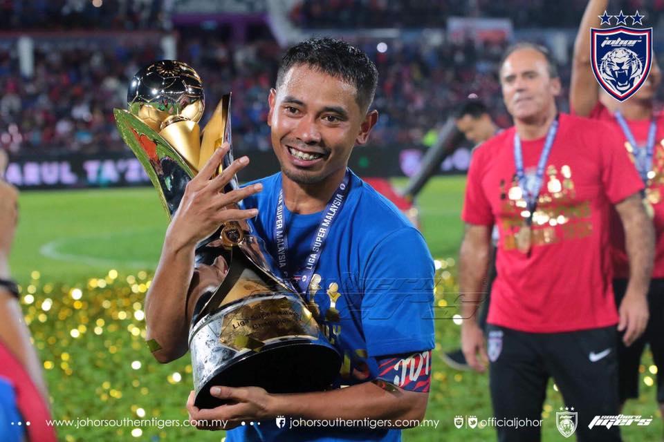JDT Raikan Kemenangan ke-4 Liga Super Malaysia
