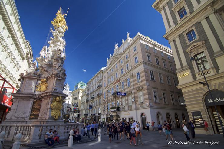 Graben - Viena, por El Guisante Verde Project