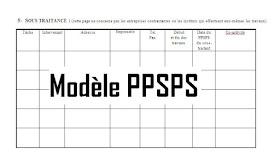 PPSPS Chantier word - exemple de modèle version doc   Cours génie civil - Outils, livres ...