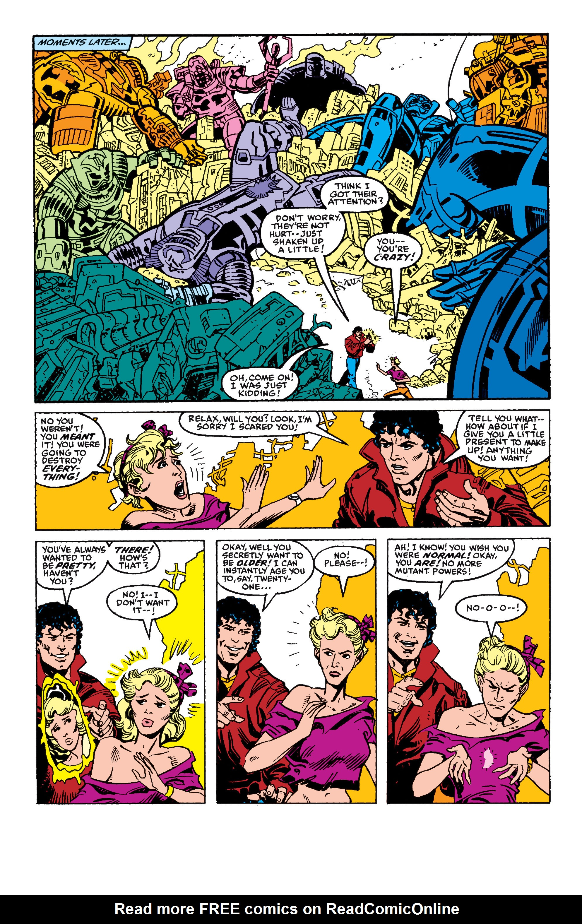 Read online Secret Wars II comic -  Issue #5 - 21