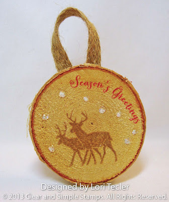 Birch Ornament-designed by Lori Tecler-Inking Aloud-stamps and dies from Clear and Simple Stamps