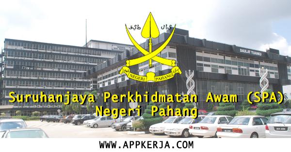 Suruhanjaya Perkhidmatan Awam (SPA) Negeri Pahang