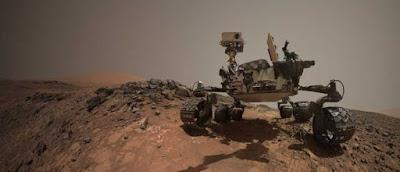 Rover NASA Curiosity su Marte