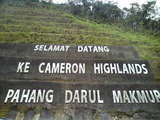 Cameron Highland, Pahang