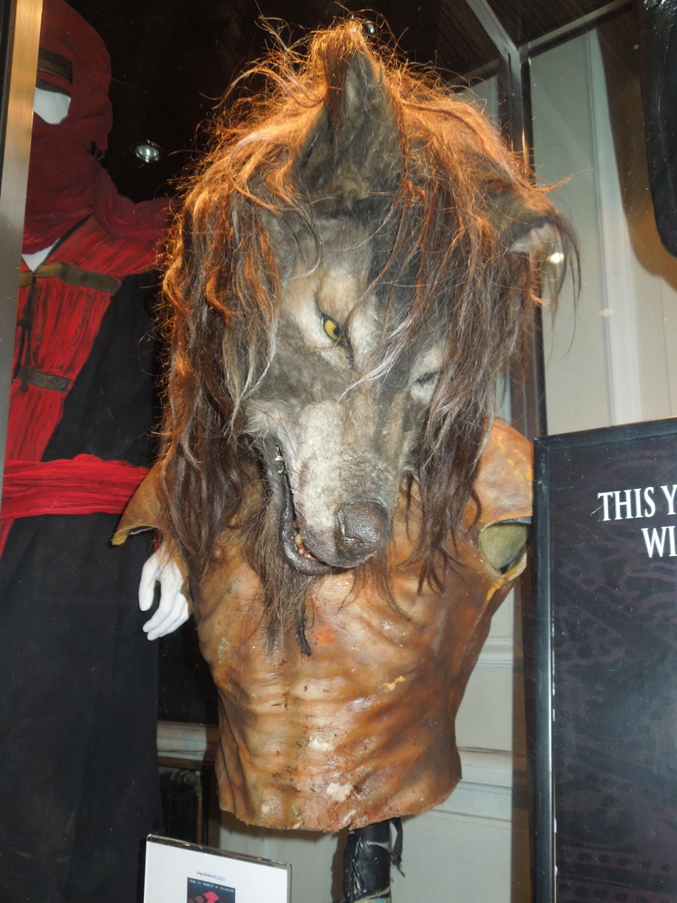 Hollywood Movie Costumes and Props: Werewolf prosthetics ...
