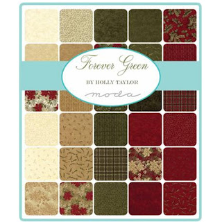 Moda Forever Green Fabric by Holly Taylor for Moda Fabrics