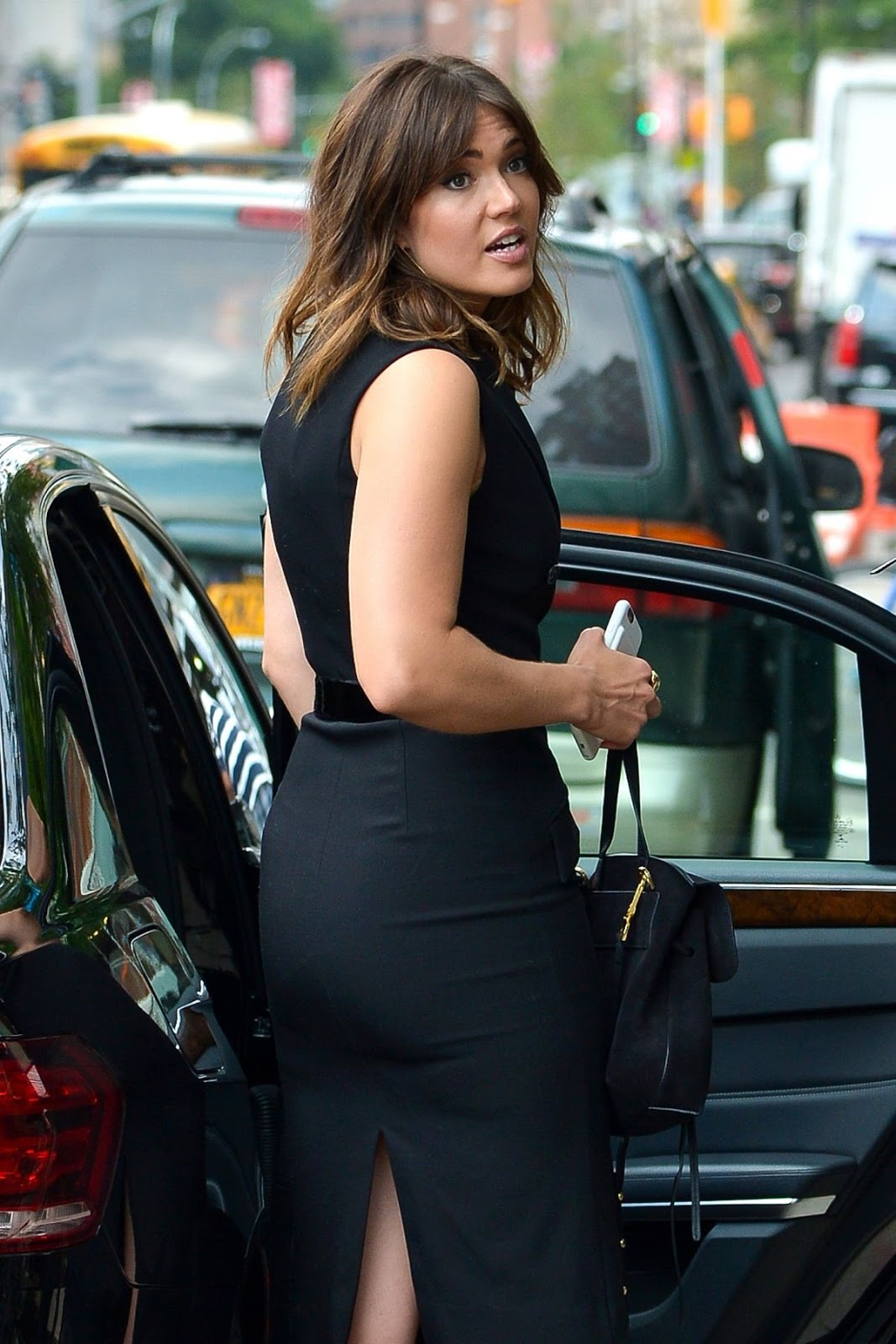Mandy Moore Out And About In New York