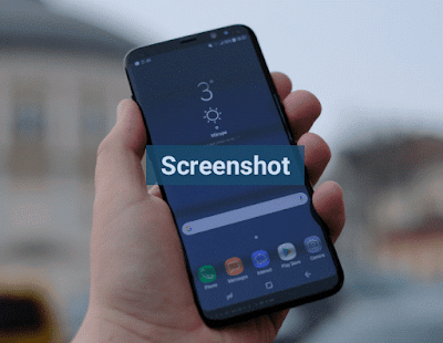 Cara Screenshot Layar Samsung Galaxy S8, S8 Plus