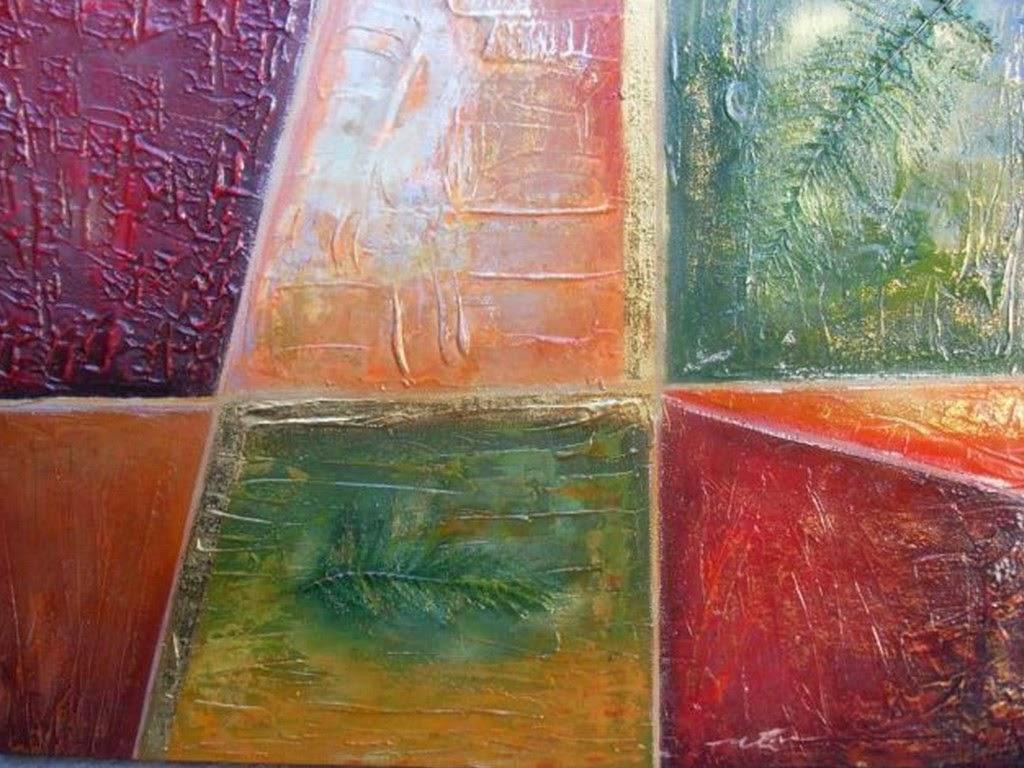Cuadros Abstractos Acrilicos Imágenes De Cabellos