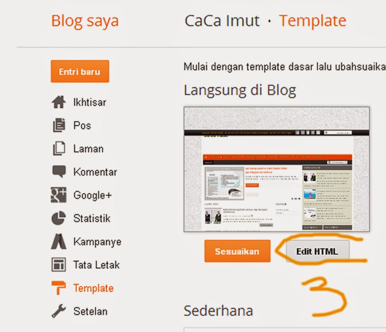 Cara Mengganti Tampilan Gambar Header Blog (bag.1)