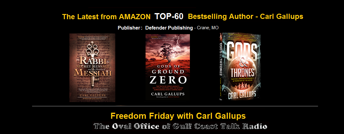 Check out all of Carl Gallups' bestsellers!