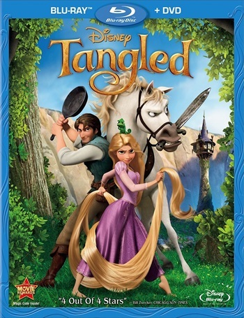 Tangled 2010 Dual Audio Hindi 480p BluRay 300mb