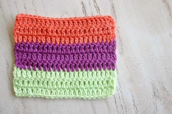 How To Crochet a Clean Edge Along a Rough Edge – Felted Button