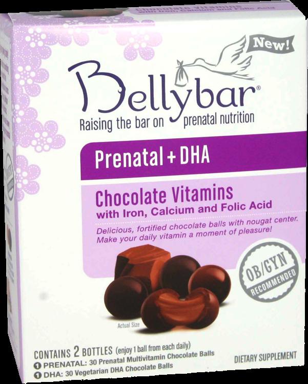 Eco Hippie Momma Bellybar Prenatal Dha Chocolate Vitamins