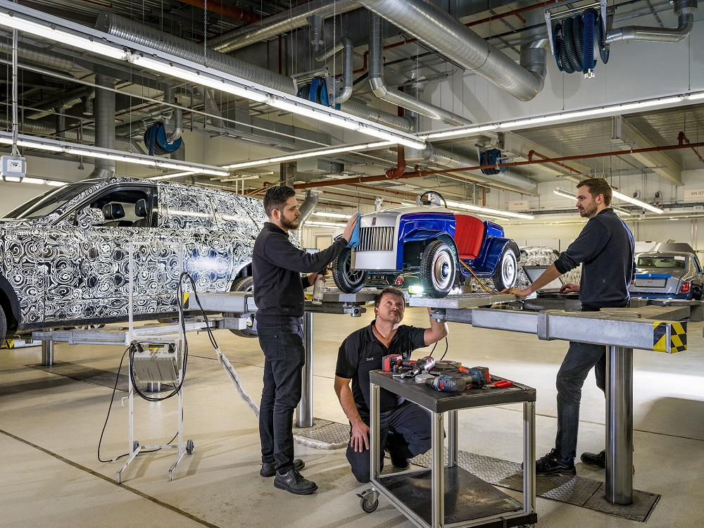 First year's service for smallest Rolls-Royce