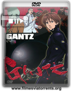 Gantz 1ª e 2ª Temporada Torrent - DVDRip